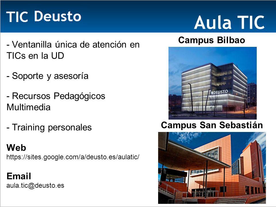 Aula TIC Ca Campus Bilbao