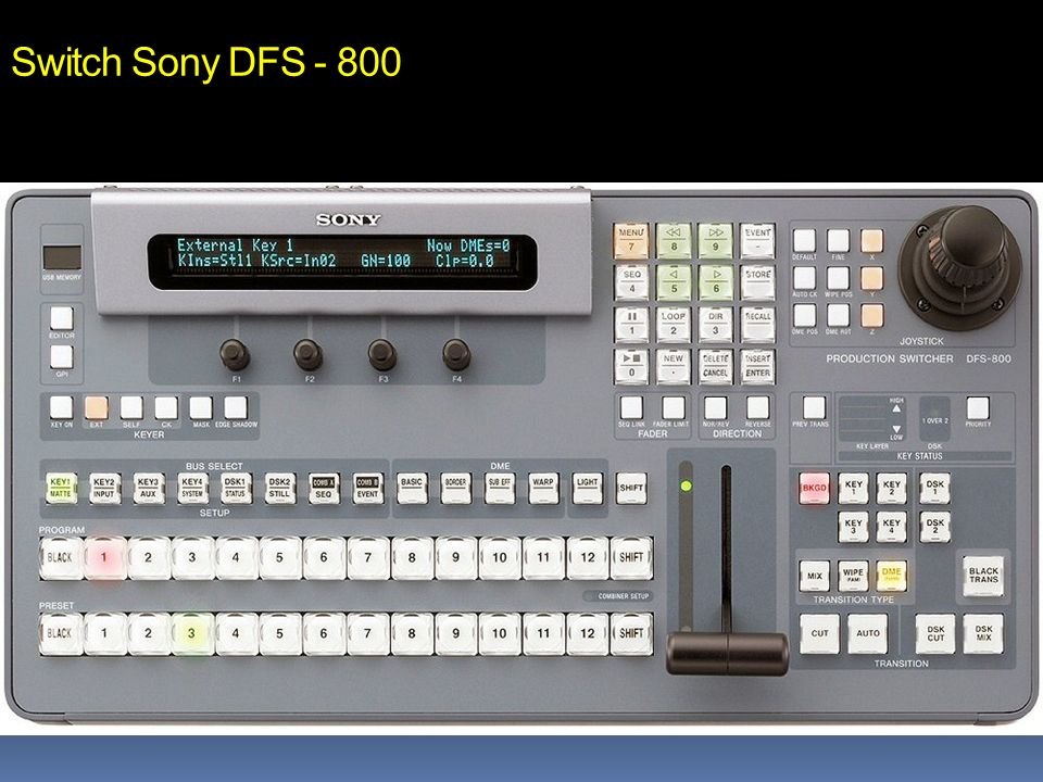 Switch Sony DFS - 800