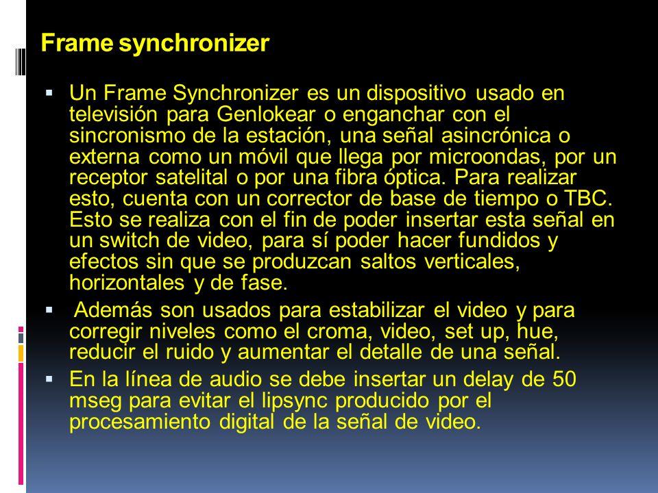 Frame synchronizer