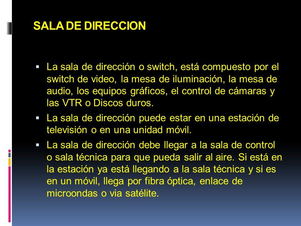 SALA DE DIRECCION