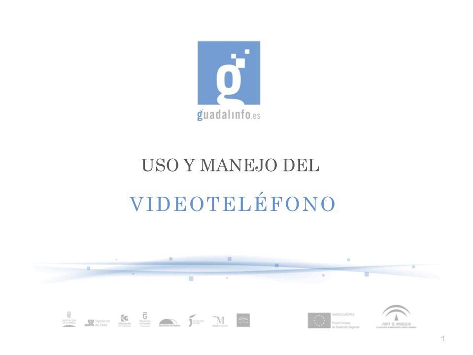 USO Y MANEJO DEL VIDEOTELÉFONO