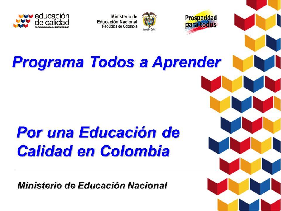 Por una Educación de Calidad en Colombia