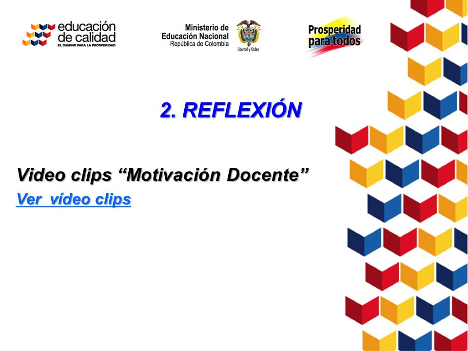 Video clips Motivación Docente Ver vídeo clips