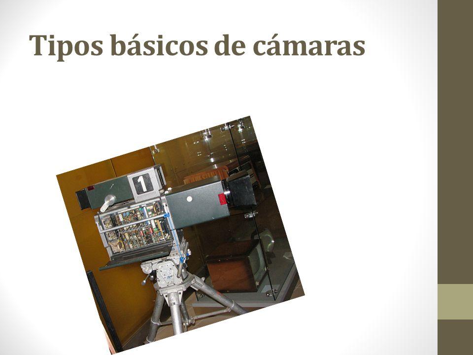 Tipos básicos de cámaras