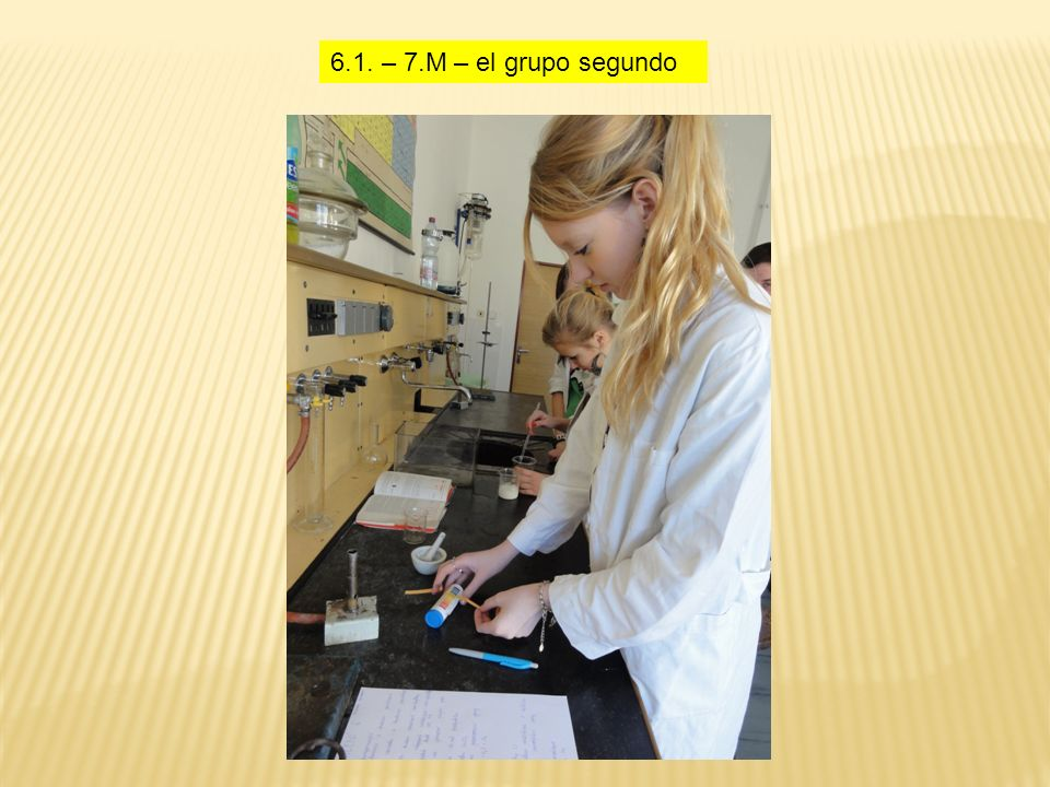 6.1. – 7.M – el grupo segundo