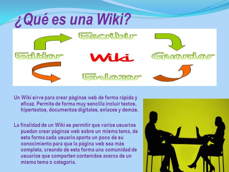 ¿Qué es una Wiki