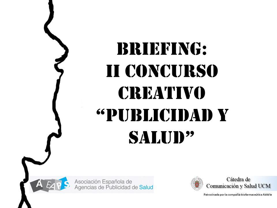 II Concurso creativo PUBLICIDAD Y SALUD