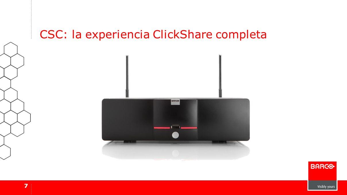 CSC: la experiencia ClickShare completa