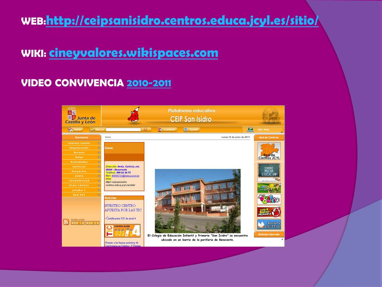 WEB:http://ceipsanisidro. centros. educa. jcyl