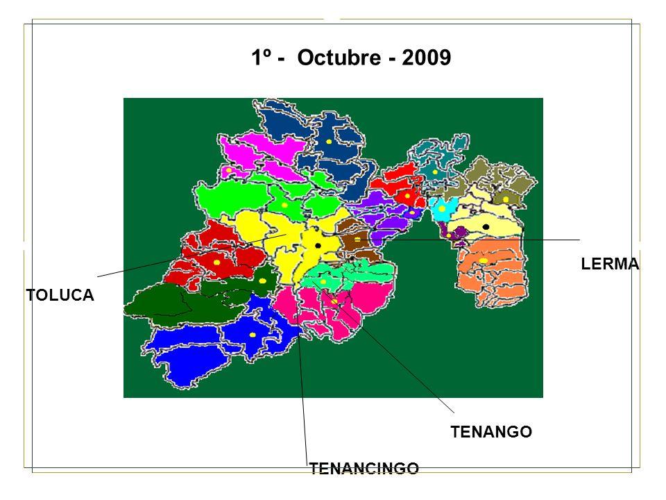 1º - Octubre - 2009 LERMA TOLUCA TENANGO TENANCINGO