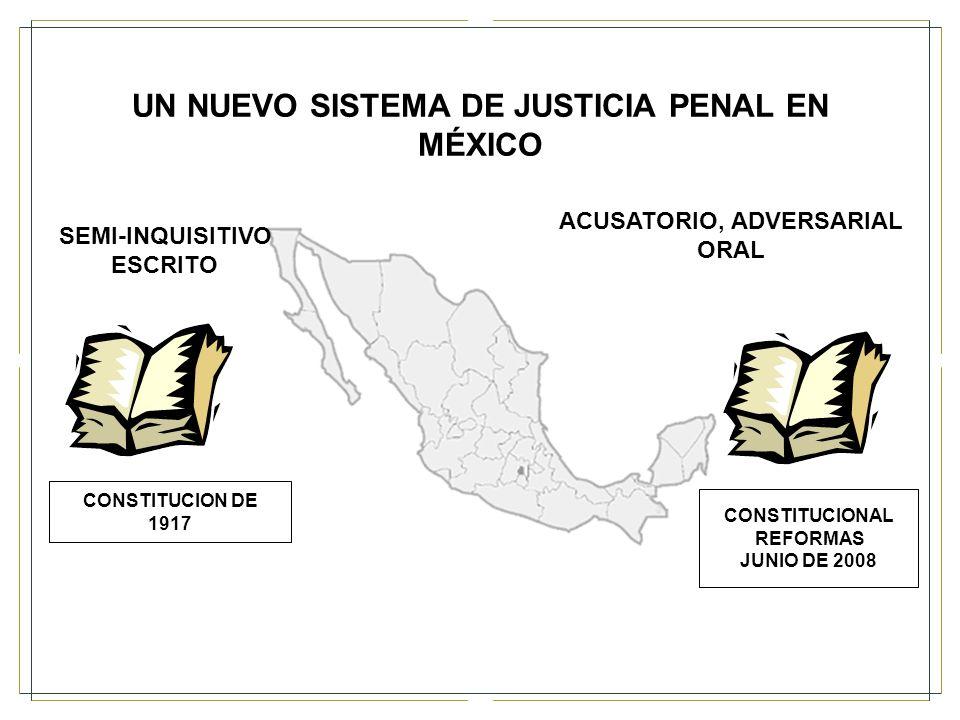 UN NUEVO SISTEMA DE JUSTICIA PENAL EN MÉXICO