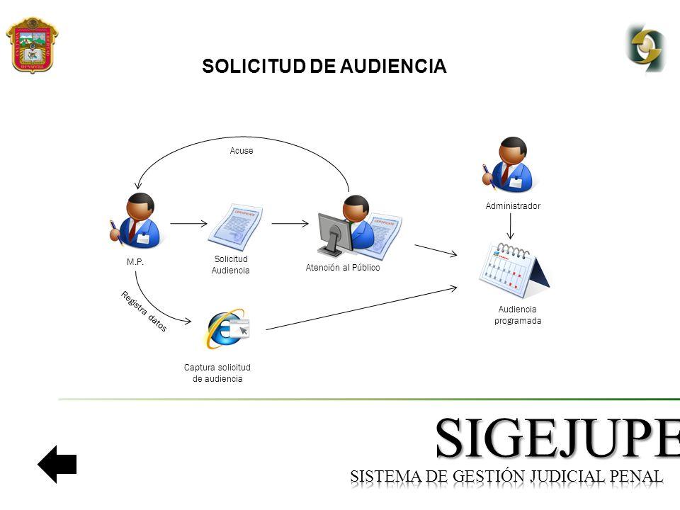 SISTEMA DE GESTIÓN JUDICIAL PENAL