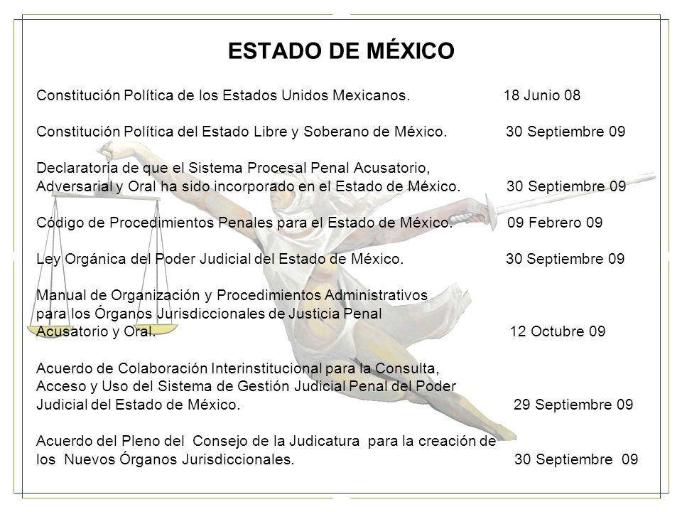 ESTADO DE MÉXICO Constitución Política de los Estados Unidos Mexicanos. 18 Junio 08.