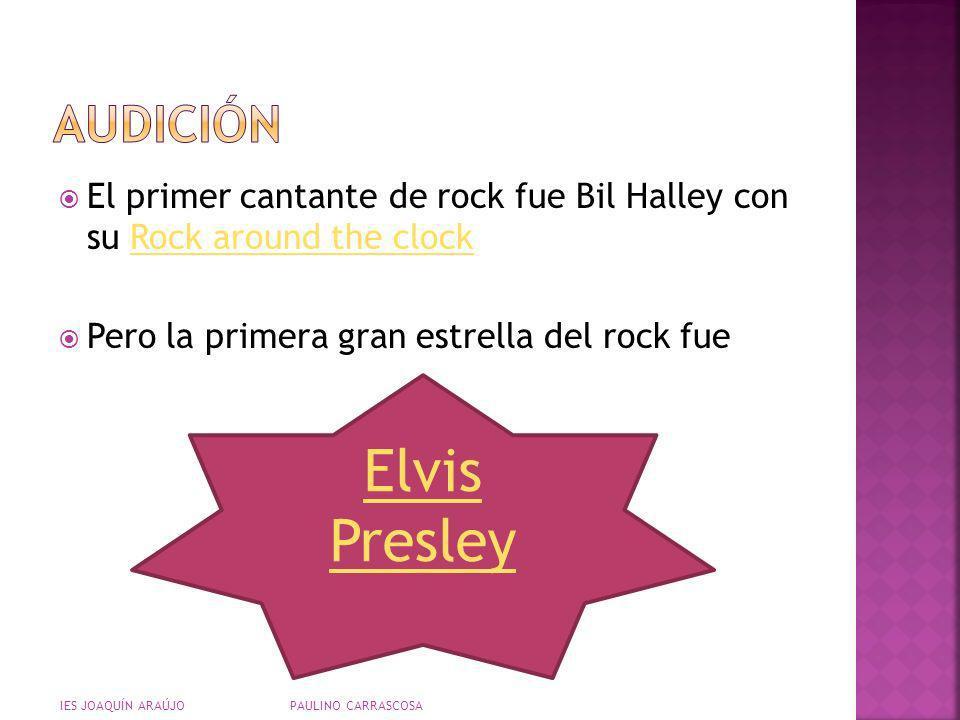 Elvis Presley audición