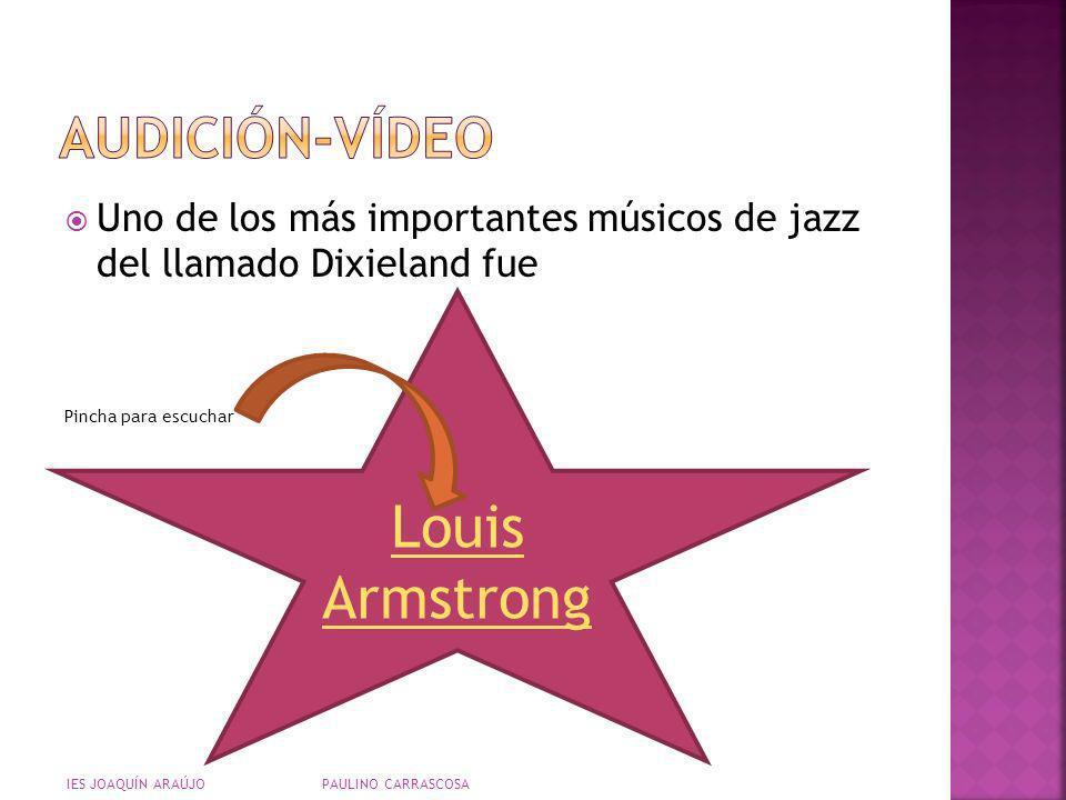Louis Armstrong AUDICIÓN-VÍDEO