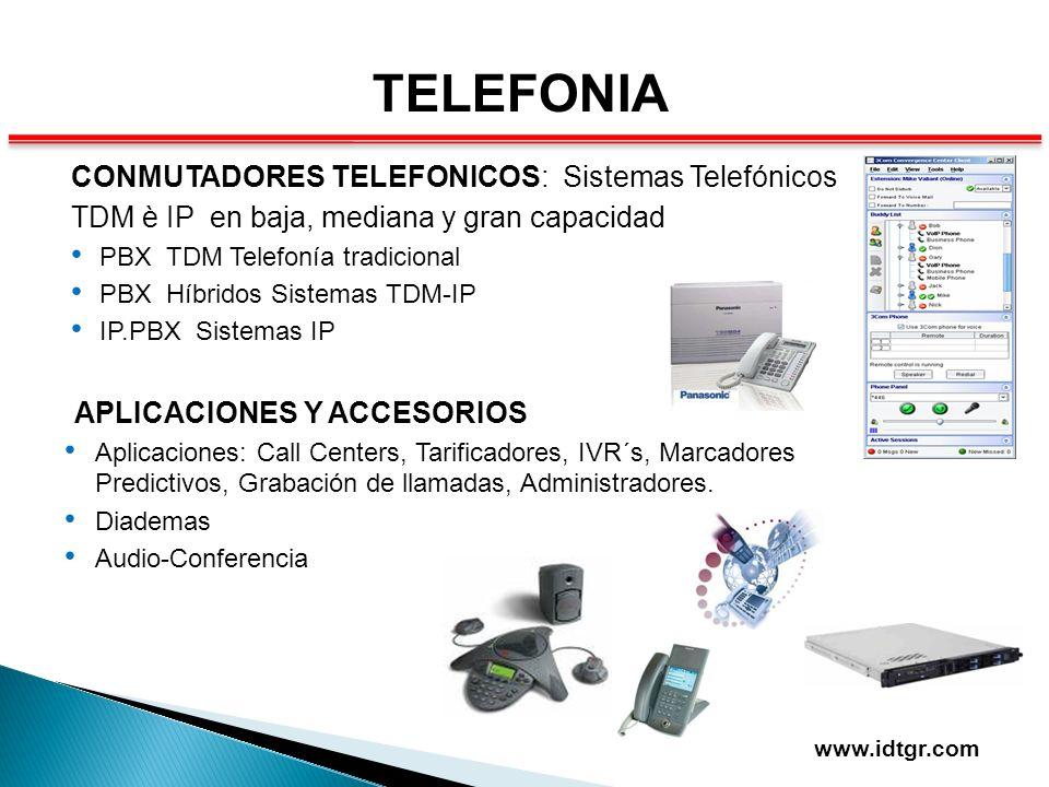 TELEFONIA CONMUTADORES TELEFONICOS: Sistemas Telefónicos