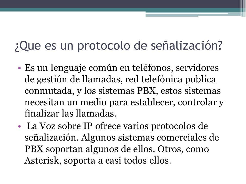 ¿Que es un protocolo de señalización