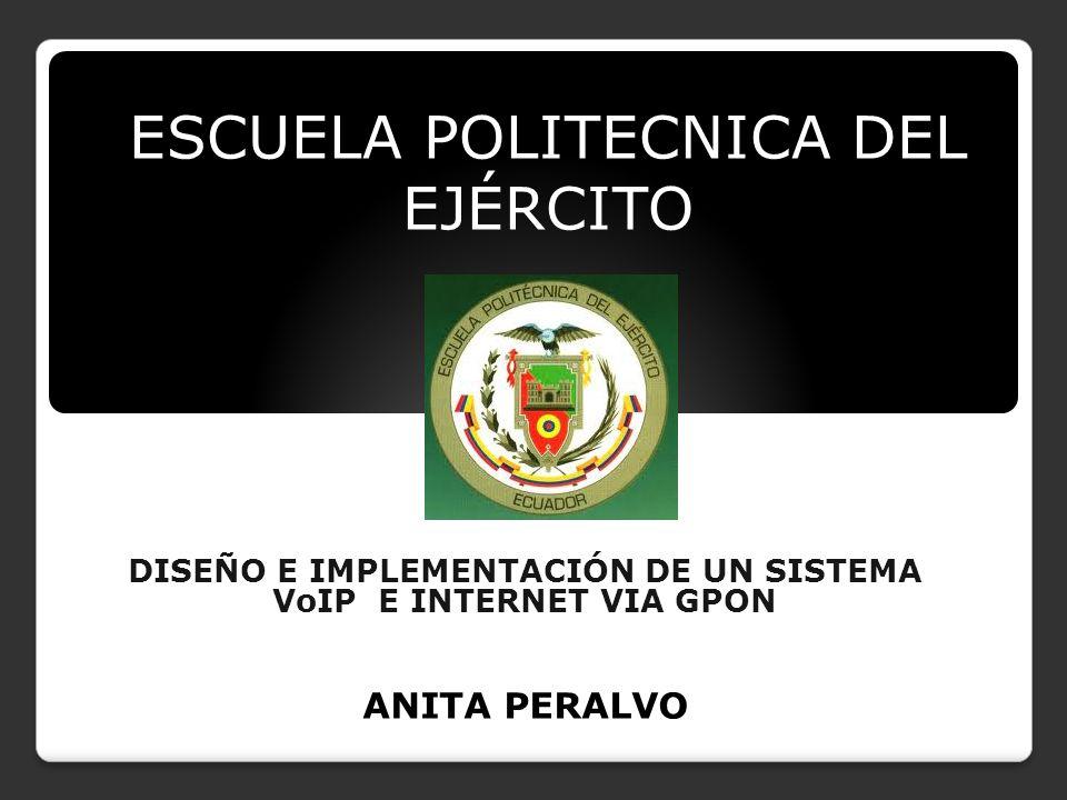 DISEÑO E IMPLEMENTACIÓN DE UN SISTEMA VoIP E INTERNET VIA GPON