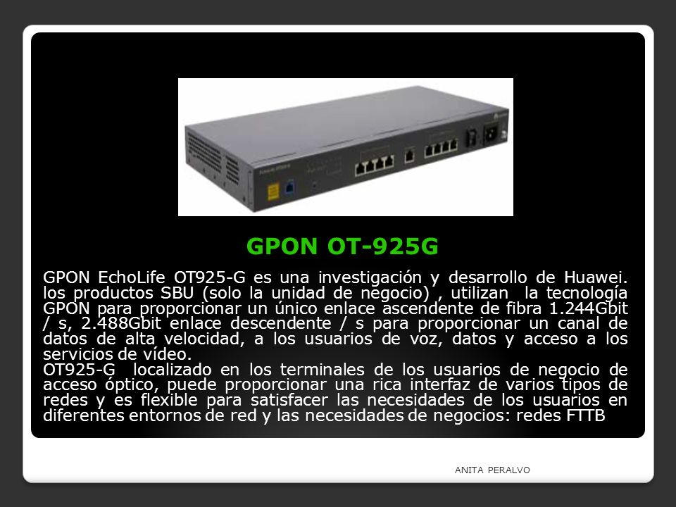 GPON OT-925G