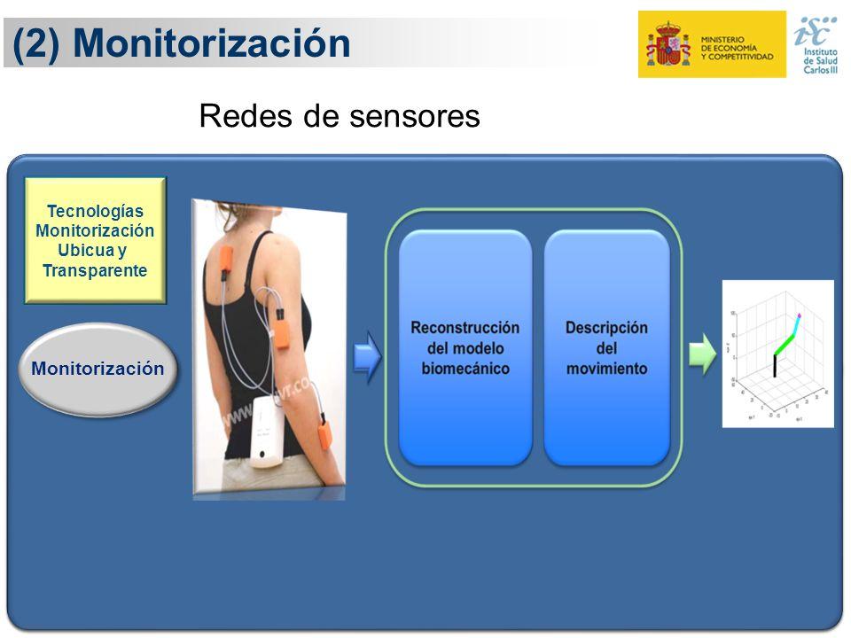 (2) Monitorización Redes de sensores