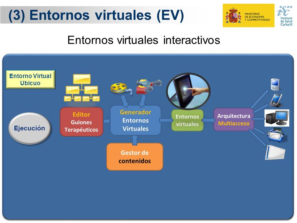 (3) Entornos virtuales (EV)