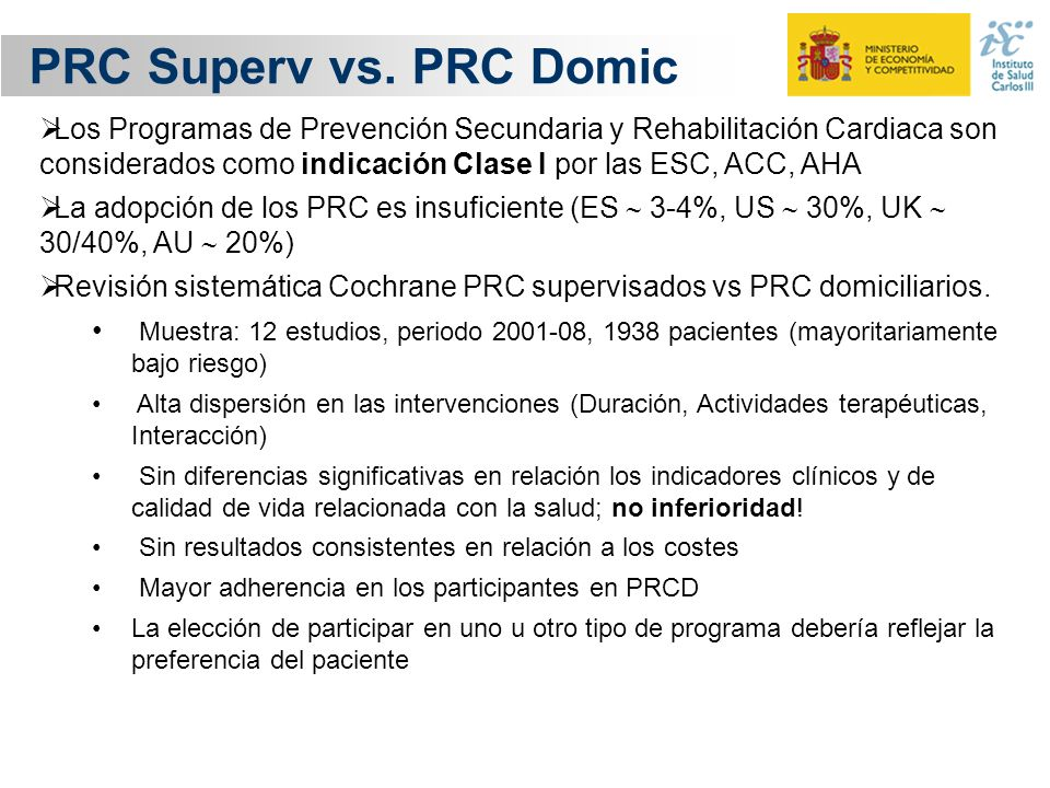 PRC Superv vs. PRC Domic