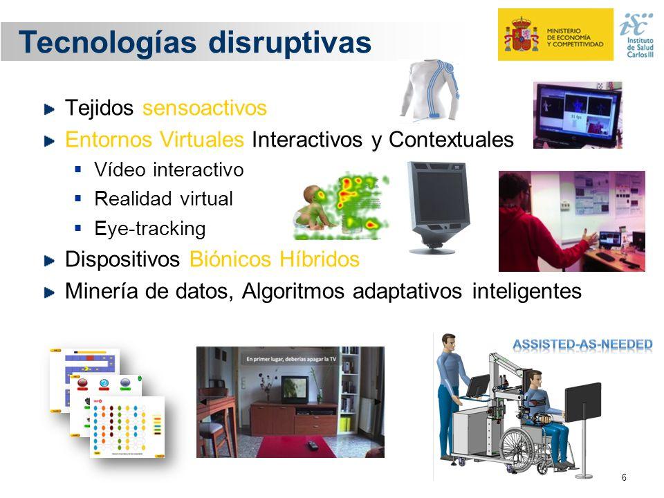 Tecnologías disruptivas