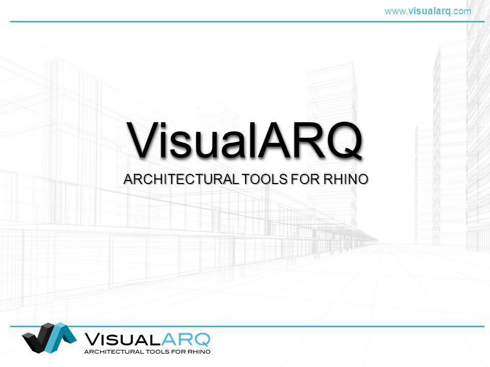 ARCHITECTURAL TOOLS FOR RHINO