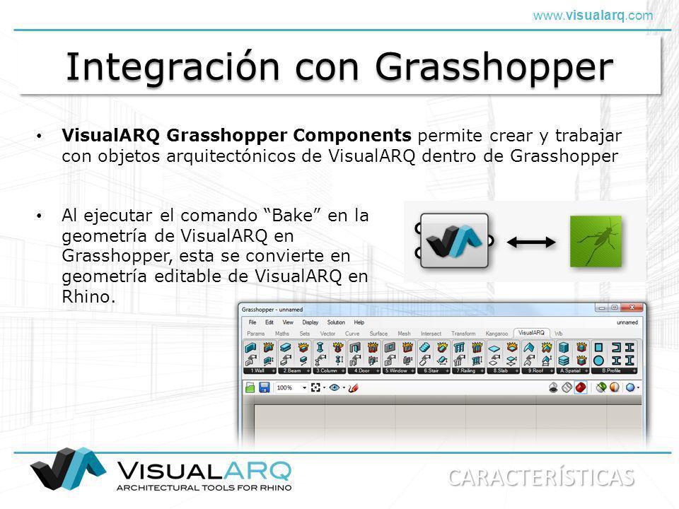 Integración con Grasshopper