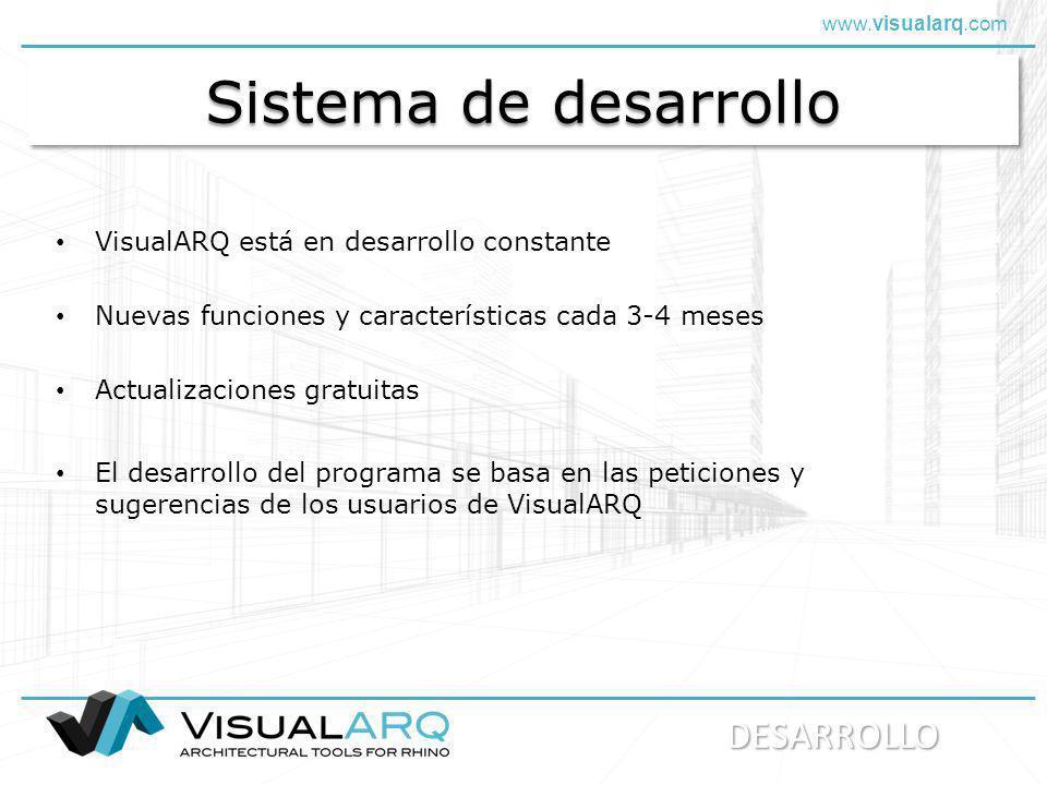 Sistema de desarrollo DESARROLLO