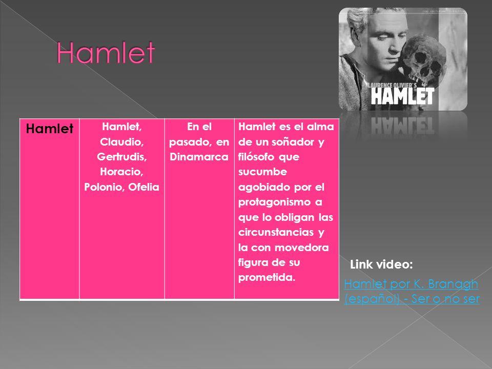 Hamlet Hamlet Link video: