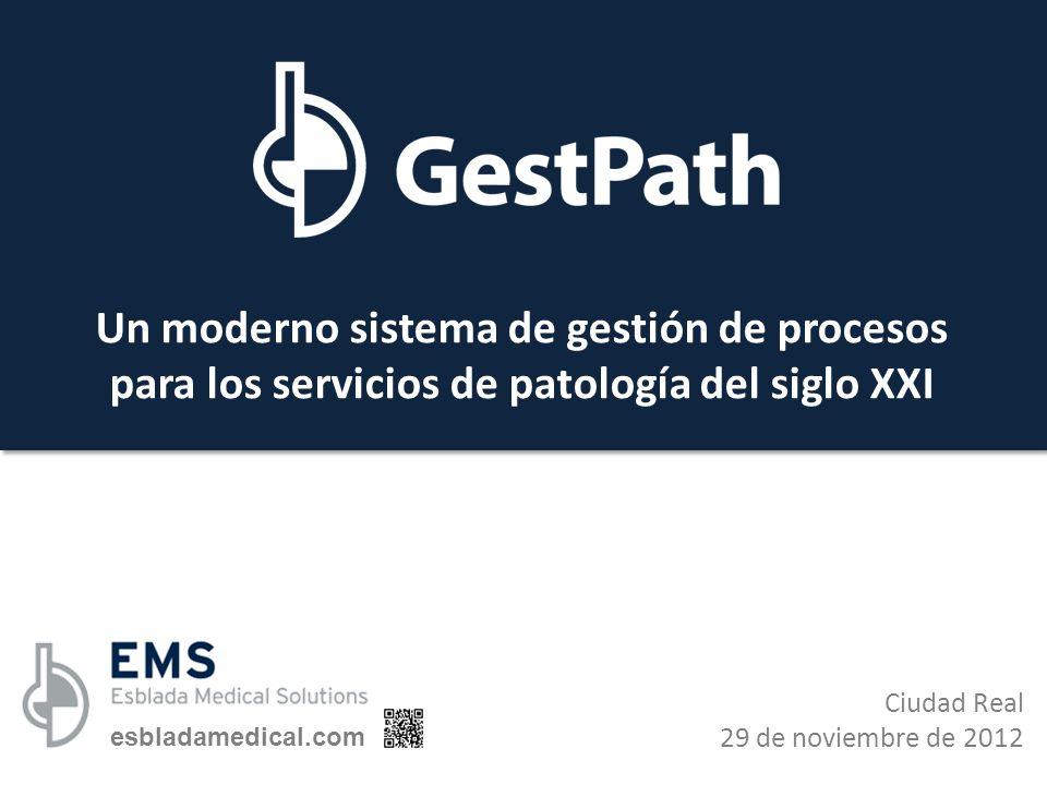 Un moderno sistema de gestión de procesos para los servicios de patología del siglo XXI