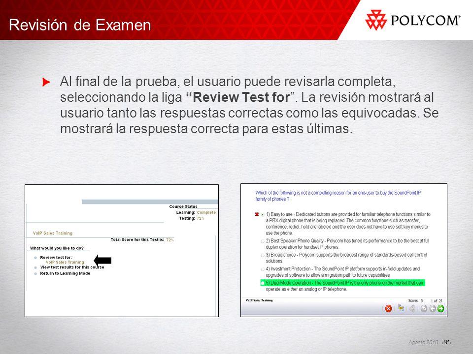 Revisión de Examen