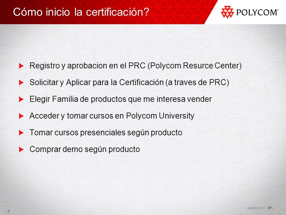 Cómo inicio la certificación