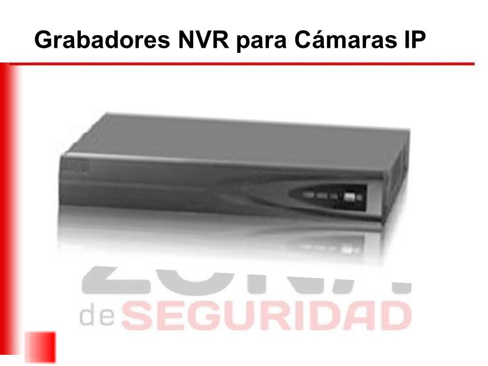Grabadores NVR para Cámaras IP
