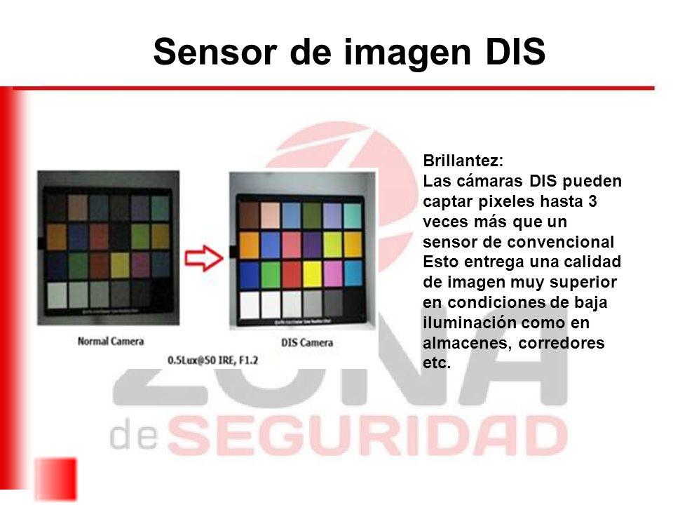 Sensor de imagen DIS Brillantez: