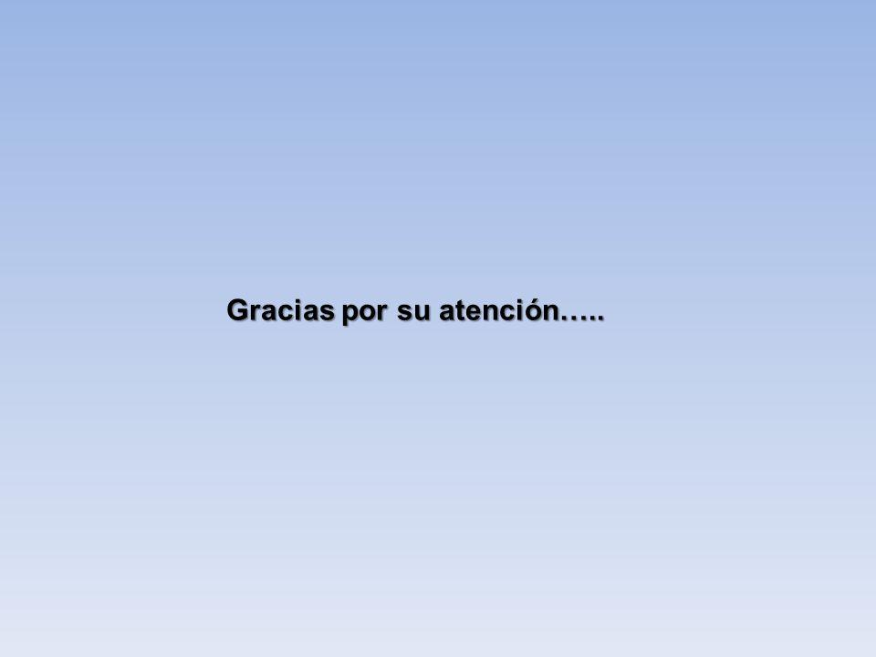 Gracias por su atención…..