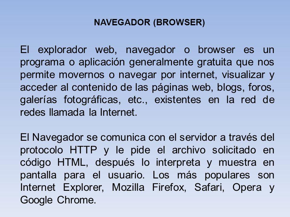 NAVEGADOR (BROWSER)