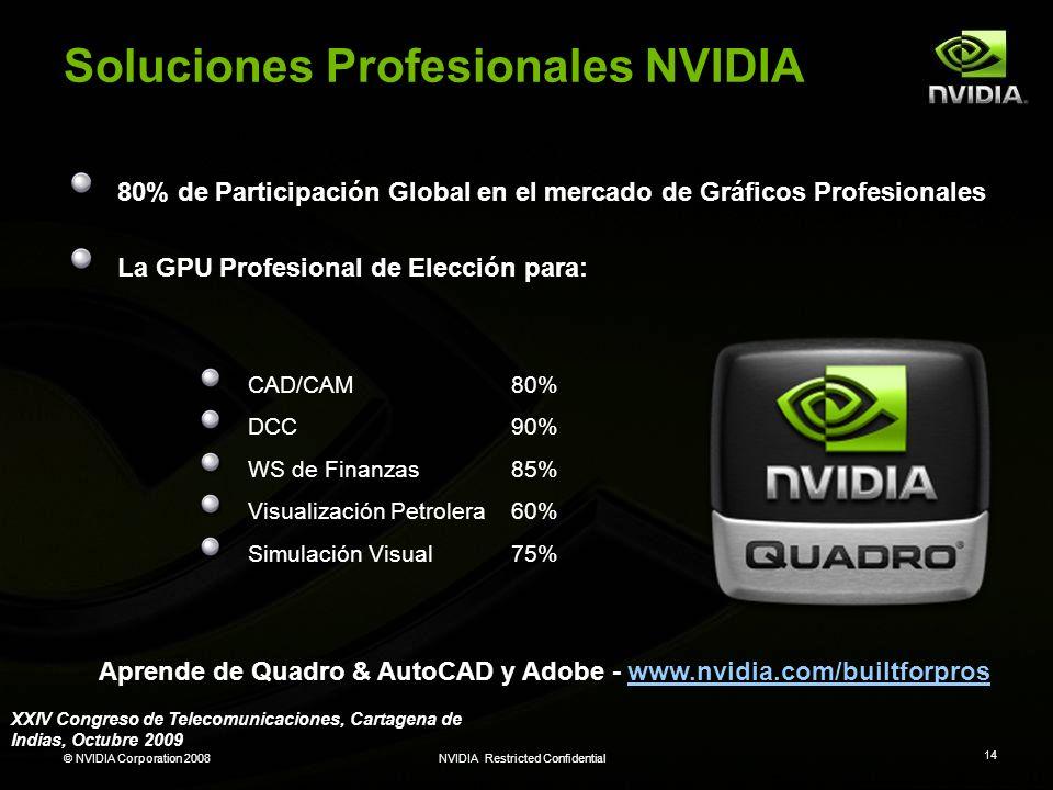 Soluciones Profesionales NVIDIA