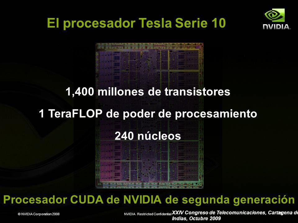 El procesador Tesla Serie 10