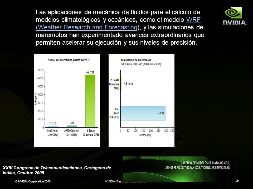 Hay varios proyectos en marcha encaminados a acelerar códigos de química cuántica utilizando GPUs con CUDA, lo que incluye trabajos con Gaussian y GAMESS. Los gráficos siguientes muestran los resultados más representativos, seguidos de enlaces con aplicaciones y publicaciones técnicas relativas al uso de CUDA en química computacional.