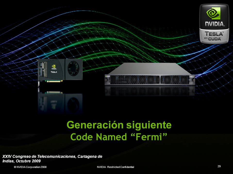 Generación siguiente Code Named Fermi