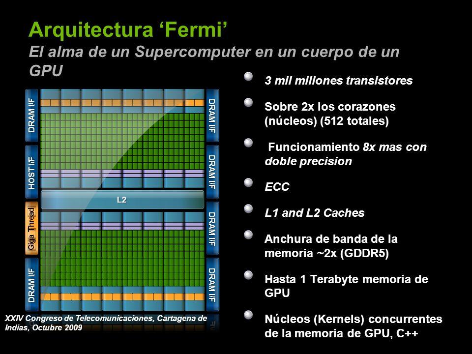 Arquitectura 'Fermi' El alma de un Supercomputer en un cuerpo de un GPU