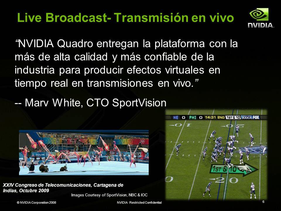 Live Broadcast- Transmisión en vivo