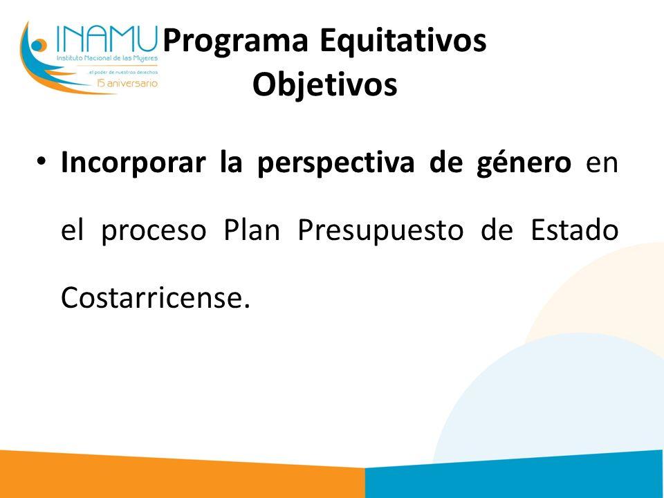 Programa Equitativos Objetivos