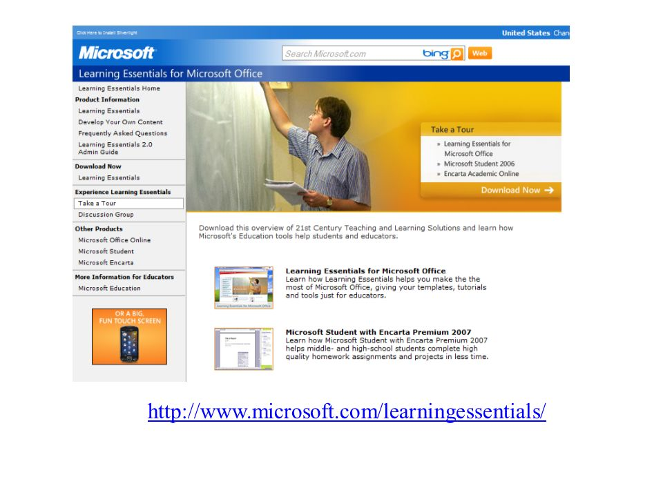 http://www.microsoft.com/learningessentials/