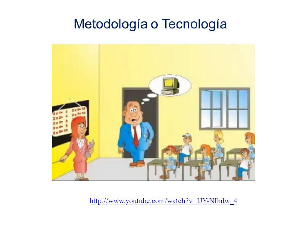 Metodología o Tecnología