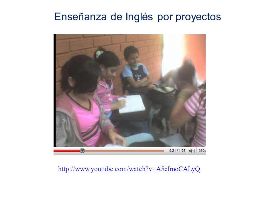 Enseñanza de Inglés por proyectos
