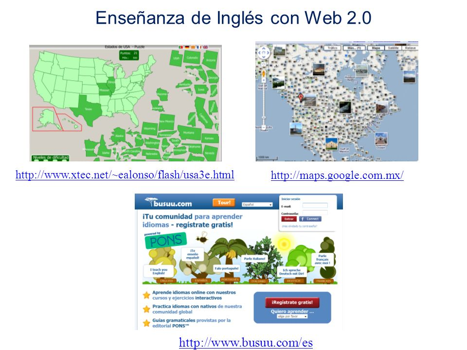 Enseñanza de Inglés con Web 2.0
