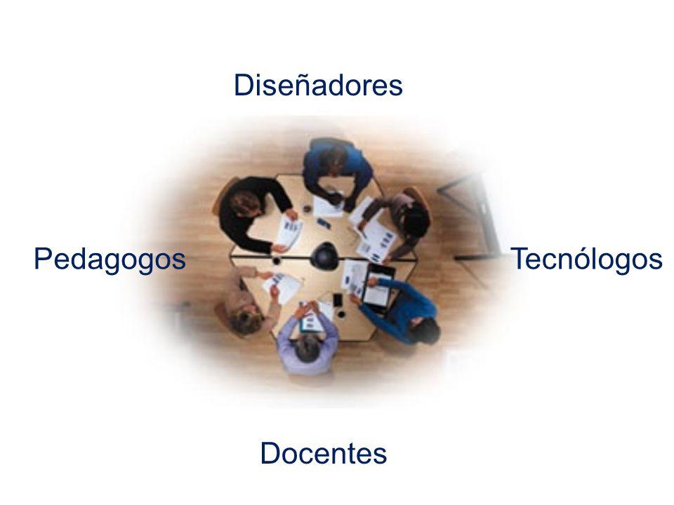 Diseñadores Pedagogos Tecnólogos Docentes